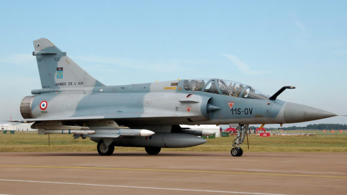 Mirage 2000 disparu : Crash d'un avion de chasse français