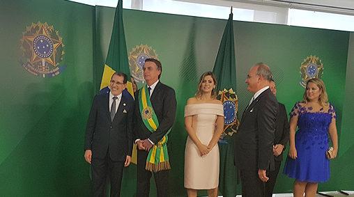 Brésil: Saâd Dine El Otmani représente le Roi Mohammed VI à l'investiture du président Bolsonaro