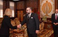 Le Roi Mohammed VI reçoit Federica Mogherini