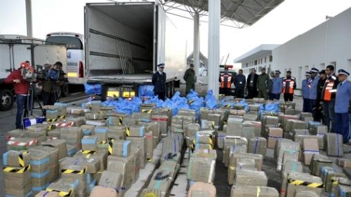 Tanger: Près de 29 T de drogue saisies depuis samedi