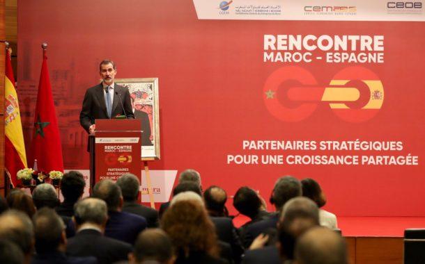 """Espagne- Maroc: Le Roi Felipe VI fait l'éloge d'une """"alliance pionnière"""" dans  l'espace euro-méditerranéen"""