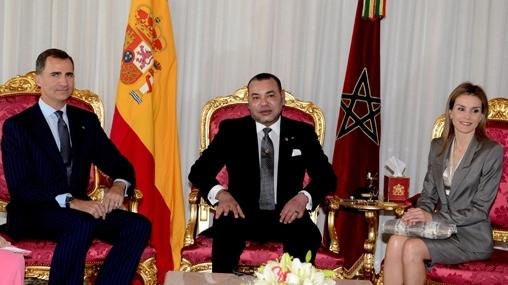 Arrivée au Maroc du Roi Felipe VI et de la Reine Letizia